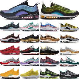 nike air max 97OG moda zapatillas hombre mujer LX retroceso futuro neón seúl plata bala tigre camo oliva trigo neón diseñador zapatos eur36 45
