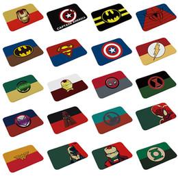 chevron baby decken Rabatt Marvel Toys The Avengers Plüschteppich Iron Man Captain America Batman Teppich Baumwolle Weihnachtsgeschenk für Kinder