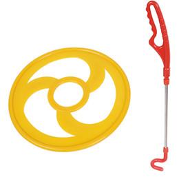 2019 juguetes de ruedas para adultos Kindergarten Motion Rolling Iron Ring Nostalgia del niño Ruedas calientes Adultos aros de empuje Al aire libre Juguete del estudiante Comfort Handle 9 31jx7 C1 juguetes de ruedas para adultos baratos