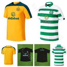 Kit jersey 17 on-line-2019 2020 homens camisa de futebol celta do FC 22 EDOUARD 49 FORREST 11 SINCLAIR 17 CHRISTIE 42 MCGREGOR 8 camisa de futebol marrom Kits uniforme