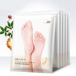 Cuidado de los pies de salud online-Mascarillas exfoliantes para pies Calcetines para pedicura Bebé Pieles exfoliantes Máscara para el cuidado de la piel Cosméticos Peeling Herramientas para la salud de los pies RRA1017