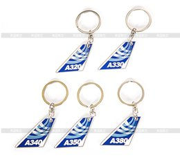 2566a04109be New A320 A330 A340 A350 A380 Bag Tag Tail Plane Shape Blue Travel Luggage  Tag Gift for Pilot Flight Crew