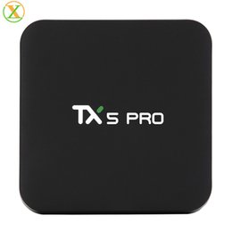 2019 TX5 MAX 4K DDR4 4GB 32GB Android 8.1 Amlogic S905X2 Quad Core Android TV Box von Fabrikanten