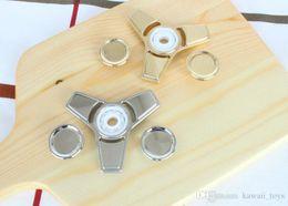 Finger Spinner Fidget Toy Hand Spinner EDC Toys Fidget Spinner Hand Acero inoxidable Torqbar Material de latón Profesional para autismo y TDAH desde fabricantes