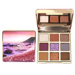 Maquiagem sombra pacote on-line-NOVO Mirage Maquiagem Paleta de Sombras Matte Shimmer Sombra Glitter Sombra de Olho Com Escova caixa de embalagem