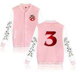 2019 giacche da giubbotto sottile Mens Hoodie Baseball Jacket Men 2019 Stranger Things 3 Mens Slim Fit Giacca Varsity Marca Elegante Giacca college Chaqueta Hombre sconti giacche da giubbotto sottile