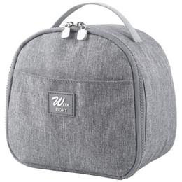 2019 forquilha para lancheiro 2019 nova lancheira para as mulheres crianças geladeira térmica almoço saco de lona bolsa de lancheira portátil pacote de isolamento