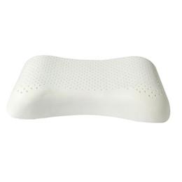 White pillows online-Purenlatex Rose Patrón Natural Damas Belleza Almohada Cuello liso Colgante College Campus Látex Látex Blanco