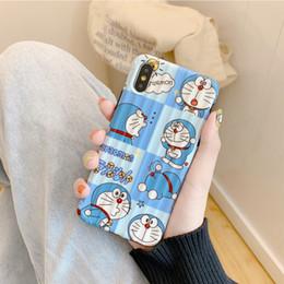 Couvertures d'iphone de caractère en Ligne-étuis de téléphone design de luxe iphone xr xsmax 8plus 7 6s Creative Cartoon Silicone Soft Character Cute Cover