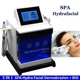 máquinas faciales de oxígeno hydra Rebajas Agua Oxígeno Hidra Facial Máquina Hidro Oxígeno Cuidado de la piel Rejuvenecimiento de la piel Spa Hidrafacial Tratamiento de eliminación de arrugas Hydra Machine