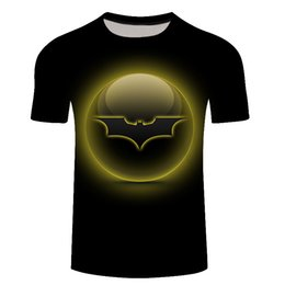 3D Print T-shirt Casual Super Batman Superman Womens//Mens Short Sleeve Tee S-5XL