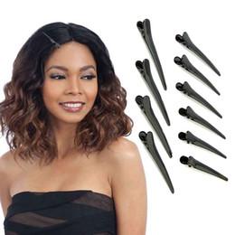 Pinze per capelli ricamabili in metallo nero per pinze per capelli da parrucchiere da regalo fatto a mano fornitori