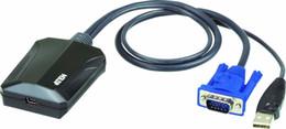 Aten Cv211-cavallo laptop portatile Console Crash Usb Card Adapter nave dalla Turchia HB-002.883.942 da