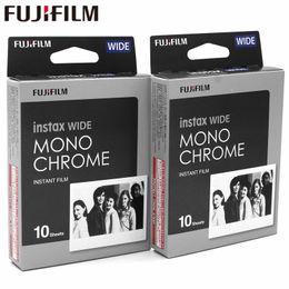 Véritable Fujifilm Instax Wide Film monochrome blanc 20 feuilles pour appareil photo sur papier Fuji Instant Photo 300/200/210/100 / 500AF ? partir de fabricateur