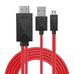 s3 tv telefon Rabatt 1080/720 p tv hdmi av adapter kabel spiegelcasting für samsung s4 / s3 / s5 smart phone