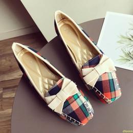europäischer schuhgröße 42 Rabatt 2019 europäischen Frauen Casual Loafers Karree Bowtie Slip On Wohnungen Schuhe Frau Damen Einzelnen Schuhe Größe 35-42