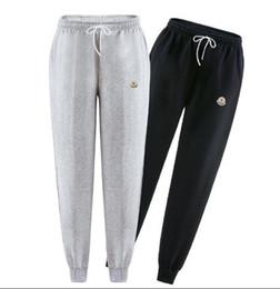 Déposez les pantalons d'entrejambe pour les hommes en Ligne-Harem Joggers Pantalon de survêtement élastique Manchette Drop Crotch Biker Joggers Pantalon Pour Hommes Noir Gris Gris Foncé Blanc