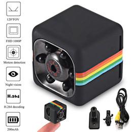 2019 сетевой видеотелефон SQ11 HD mini Camera small cam 1080P Sensor камера ночного видения видеокамера Micro видеокамера DVR DV Motion Recorder видеокамера SQ 11