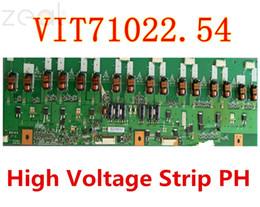 2019 tv-schaltungen FÜR VIT71022.54 Hochspannungsplatinenstreifen Mit PH-TV-Platine LCD-Schaltkreislogik Hochspannungs-Balkenplatte günstig tv-schaltungen