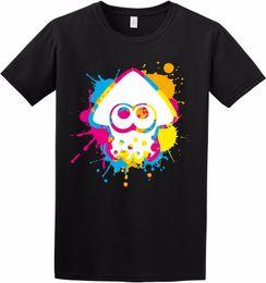 Canada Inkling Couleur Encre Splat Splatoon Squid Switch Jeu Inspiré Enfants Adulte T-Shirt Drôle livraison gratuite Casual tshirt cheap ink colours Offre