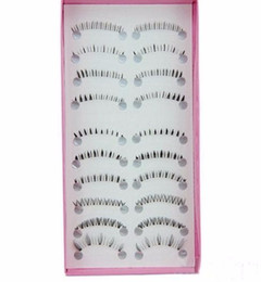 10 paia di stile diverso sotto le ciglia finte Black Fake Eye Lashes Extension Makeup Tools da