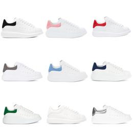 Deutschland TOP Qualität Plattform Schuhe Designer Sneakers Männer Trainer Weiß Leder Wildleder Sport Turnschuhe Flache Lässige Party Hochzeit Schuhe Mit Box UNS 11 Versorgung