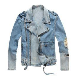 Herren Designer Jacken Mode Herren Damen Jeansjacke Lässige Hip Hop Designer Jacke Herren Bekleidung Größe M 4XL