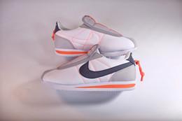 2019 zapatillas antideslizantes para hombre 2019 Nuevo Kendrick Lamar x Cortez Slip Sneakers de diseño básico Zapatillas AV2950-100 Mujer Hombre Zapatillas de running zapatillas antideslizantes para hombre baratos