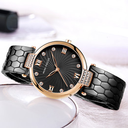 черные женские часы Скидка MINI FOCUS Fashion Elegant Quartz Womens Watch Black Stainless Steel Strap Crystal Decoration Top  Dress Ladies Watc