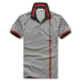 puro camicia da stampa floreale Sconti High street Italia designer maglietta moda luxurys designer medusa magliette mens polo casuale del cotone con la stampa del G8gucci
