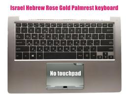 Claviers hébreux en Ligne-Israel Hebrew Palmrest Clavier rétro-éclairé pour Asus UX303U UX303UA UX303UB