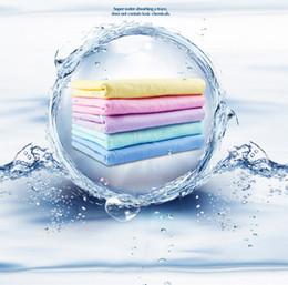 synthetisches waschleder Rabatt 5 teile / satz Neue Synthetische Mehrzweckauto Synthetische Fensterleder Sauber Trocknen Waschen Tuch Handtuch 2019