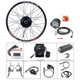 E-bike Bafang Заднее колесо 48V 500W Hub Motor Электрический комплект для переоборудования велосипедов С 20 26 27,5 700C Колеса Двигатель постоянного тока с кассетой от