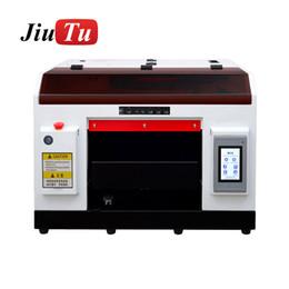 casi di stampa auricolare Sconti Stampante A3 UV piatto a getto d'inchiostro della stampante con inchiostro per le bottiglie della cassa del telefono del cilindro di legno stampa di vetro