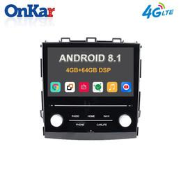 2019 gps inch igo Евсюков автомобилей Android 8.1 Авто GPS-радио для Subaru XV Forester / Impreza2018 2019 RAM 4 Гб ROM 64GB Встроенный DSP 4G SIM-карты Mirror Link