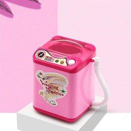DHL 20pcs NUEVO Mini Puff de lavado Todos los gadgets Lavadora Niños Niños Calcetines automáticos Maquillaje Cepillo Herramienta Limpiador Lavadora Juguete desde fabricantes