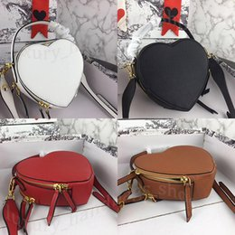 crossbody wallets Coupons - 2019 brand fashion designer brand women wallets Heart shaped bag designer handbags women luxury sac banane purses designer crossbody bag