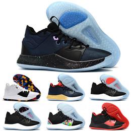 c838b599577d 2019 NUOVO Paul George PG 3 3S TS GS ID EP PALMDALE III Scarpe da basket  economici PG3 Starry Blu Arancione Rosso Nero Sport Sneakers Taglia 40-46