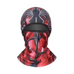 2019 máscara de paintball del ejército Pasamontañas de camuflaje Máscara facial completa Caza Ciclismo Army Bike Helmet Liner Tactical Paintball Hat Accesorios para bicicletas rebajas máscara de paintball del ejército