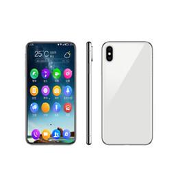 Мобильный сотовый телефон 3g онлайн-Goophone 6,5-дюймовый XS Max 1 ГБ / 8 ГБ разблокированные сотовые телефоны Andorid Face ID 3G WCDMA WIFI Dual Sim Show 4g LTE мобильного телефона