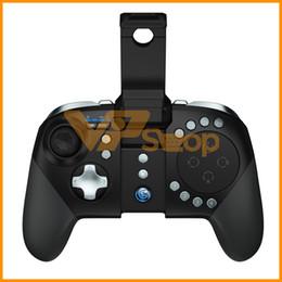 GameSir G5 Cep Telefonu Gamepad Oyun Konsolu Trackpad Özelleştirilebilir Düğmeler Moba FPS PUBG RoS için Bluetooth Kablosuz Denetleyici Android iOS nereden android telefon için bluetooth oyun denetleyicisi tedarikçiler