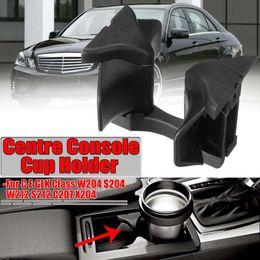 tazza di toyota Sconti Car Center Console Cup Holder Inserire Divisori per Mercedes-Benz C Clas W204 E W212 ClassW207 GLK Classe X204 Auto accessori di ricambio