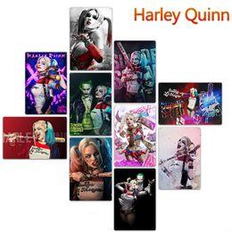 Arte d'epoca d'epoca online-20 * 30cm Harley Quinn Metal Targhe in metallo Vintage Poster Old Wall Metal Plaque Club Wall Home art metallo Pittura Decorazioni da parete Art Pictures