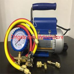 2019 engrenagem óleo bomba hidráulica Bomba de vácuo de refrigerante, 1 litro Bomba de vácuo FY-1H-N, carro, bomba de vácuo de manutenção de ar condicionado legal