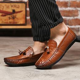 Трендовая обувь британская онлайн-JAYCOSIN 2019 Fashion Hot Sale Comfort Men's Business  Shoes Men's Peas Shoes Casual Pedal British Trend APR9