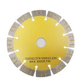 2019 strumento multimaster di fein Disco diamantato D150mm da 6 pollici Lame da taglio a parete per utensili da costruzione a parete per diamante duro per pietra da 10 pezzi