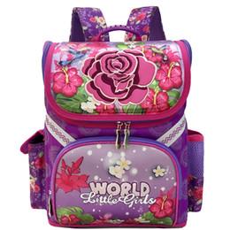 db44a225aa31 Девушки роза цветок бабочка шаблон школьные сумки мальчики гоночные  автомобили детский рюкзак водонепроницаемый ортопедическая сумка детская  книга сумка ...