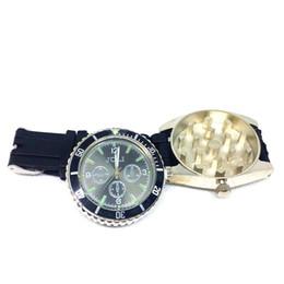 Reloj de pulsera Molinillo de hierbas Trituradora de humo de tabaco Accesorios para fumar Metal Aleación de zinc desde fabricantes