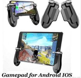 2019 gamepad tablette smartphone 2019 AOE H2 PUBG Mobiles Gamepad Gaming Trigger Shooter Controller für iPad iPhone Tablet Smartphone Android-Handy-Spielpad Samsung-Handy rabatt gamepad tablette smartphone