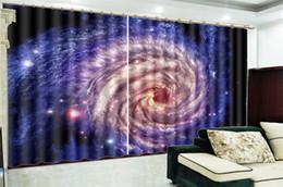paesaggistica digitale Sconti BASSO Prezzo Tenda per soggiorno Bellissimo spazio Paesaggio HD Stampa digitale Decorazione d'interni Pratiche tende oscuranti